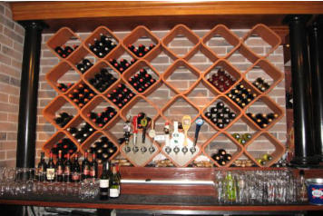 Hexagon Tile Octagon Tile Wine Tile For Wine Storage Racks